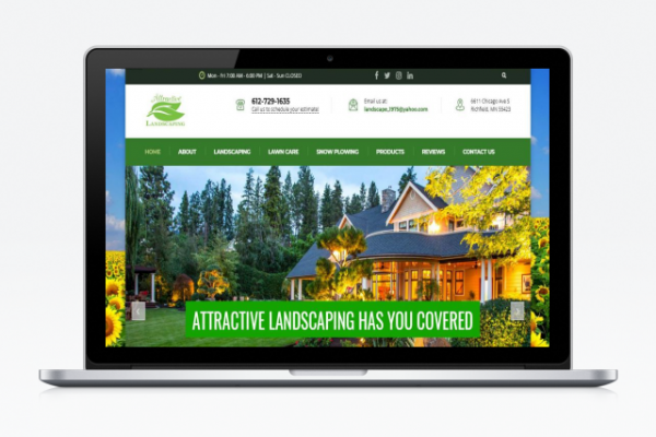 Attractive Landscaping | Portkey SEO Solutions