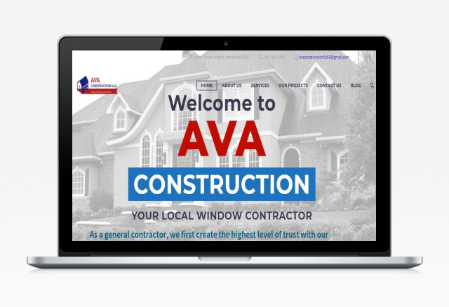 AVA Construction | Portkey SEO Solutions