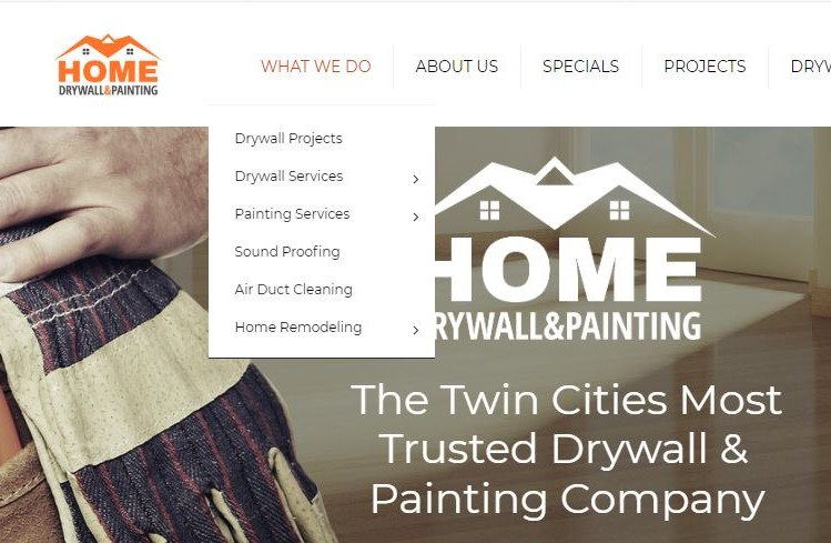 Web Devleopment White Bear Lake MN | Home Drywall & Painting