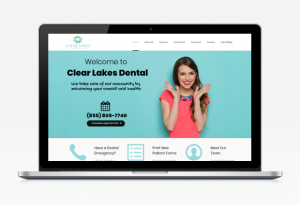 Clear Lakes Dental Website